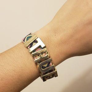 BCBGeneration • tribal gold TRUE bracelet